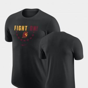 Trojans T-Shirt Black Basketball Team Nike For Men