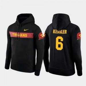 Mens #6 Sideline Seismic Nike Football Performance Cody Kessler USC Hoodie Black