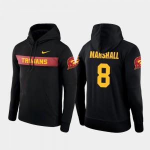For Men #8 Nike Football Performance Black Sideline Seismic Iman Marshall Trojans Hoodie