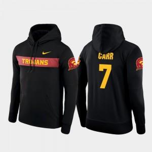 Black For Men Stephen Carr Trojans Hoodie Nike Football Performance Sideline Seismic #7