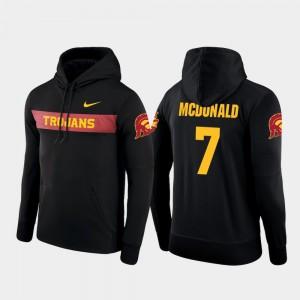 Men Sideline Seismic T.J. McDonald USC Hoodie Nike Football Performance Black #7