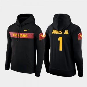 Sideline Seismic Black For Men Velus Jones Jr. Trojans Hoodie #1 Nike Football Performance
