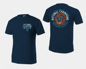 Navy 2018 Ball Basketball National Champions Men's Wildcats T-Shirt