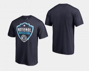 2018 Cut Big & Tall Villanova University T-Shirt Navy Basketball National Champions Men