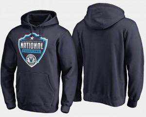 Basketball National Champions 2018 Cut Navy Villanova Wildcats Hoodie Mens