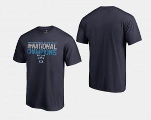 Navy 2018 Dribble Big & Tall Basketball National Champions For Men Villanova Wildcats T-Shirt
