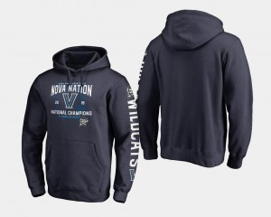 Navy Villanova Hoodie 2018 Fastbreak Basketball National Champions For Men