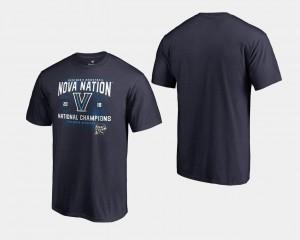Basketball National Champions 2018 Fastbreak Navy Men Nova T-Shirt