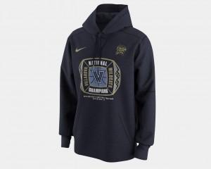 Wildcats Hoodie Basketball National Champions 2018 Locker Room For Men Navy