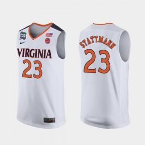White 2019 Final-Four For Men Kody Stattmann Cavaliers Jersey #23