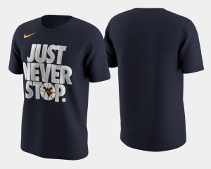 Basketball Tournament Just Never Stop March Madness Selection Sunday Navy WVU T-Shirt Men