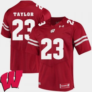 Alumni Football Game For Men's Red Jonathan Taylor Wisconsin Jersey #23 2018 NCAA