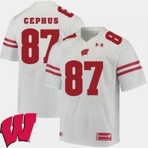 #87 White Men 2018 NCAA Quintez Cephus UW Jersey Alumni Football Game