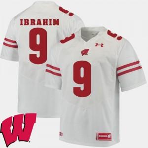 2018 NCAA Rachid Ibrahim UW Jersey Alumni Football Game For Men White #9