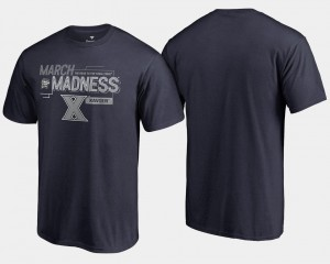 Basketball Tournament Navy 2018 March Madness Bound Airball Xavier Musketeers T-Shirt Men