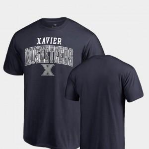 Fanatics Branded Xavier T-Shirt Men Square Up Navy