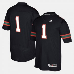 Hurricanes Jersey #1 For Men 2017 Special Games Black