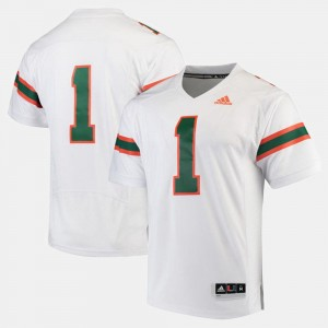Men White 2017 Special Games #1 Hurricanes Jersey