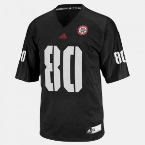 College Football Black #80 For Kids Kenny Bell Nebraska Cornhuskers Jersey
