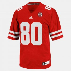 College Football Kenny Bell Nebraska Jersey Red #80 Youth(Kids)