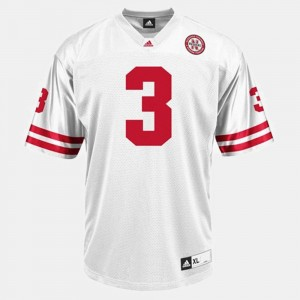 Taylor Martinez Nebraska Cornhuskers Jersey College Football Mens #3 White