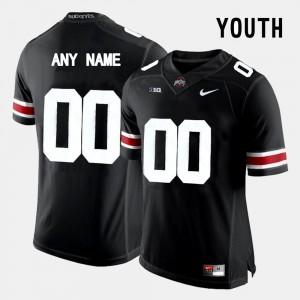 OSU Custom Jerseys #00 Black College Limited Football Kids