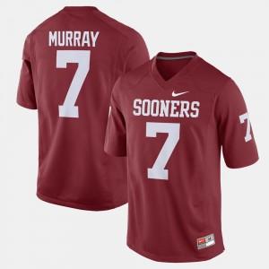 DeMarco Murray Sooners Jersey Men Alumni Football Game Crimson #7
