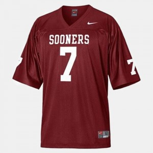 #7 Red DeMarco Murray Oklahoma Sooners Jersey College Football Youth