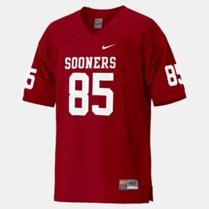 Red Ryan Broyles Oklahoma Sooners Jersey Men's College Football #85