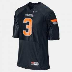 Brandon Weeden OSU Jersey Kids #3 College Football Black