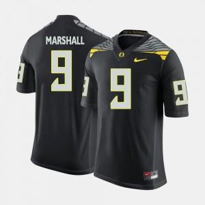 College Football Byron Marshall University of Oregon Jersey Black Men #9
