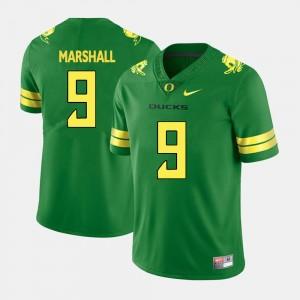 Byron Marshall University of Oregon Jersey College Football Mens Green #9
