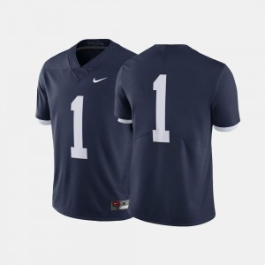 For Men's Throwback Navy #1 Nittany Lions Jersey