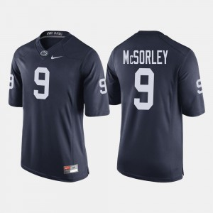 Mens Navy Trace McSorley PSU Jersey College Football #9