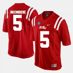#5 Alumni Football Game Robert Nkemdiche Ole Miss Jersey Red For Men