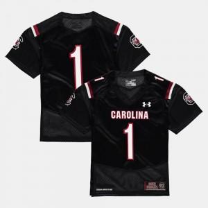 Kids College Football Black #1 South Carolina Jersey