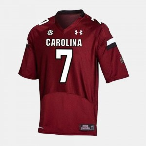 College Football Youth(Kids) #7 Red Jadeveon Clowney Gamecocks Jersey