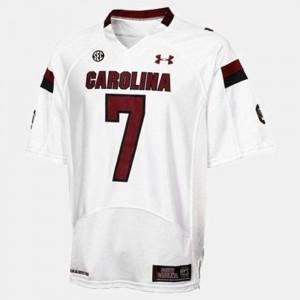 Jadeveon Clowney University of South Carolina Jersey Youth(Kids) College Football White #7