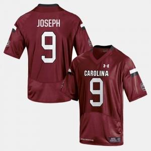 Johnathan Joseph South Carolina Gamecocks Jersey #9 College Football Men Cardinal