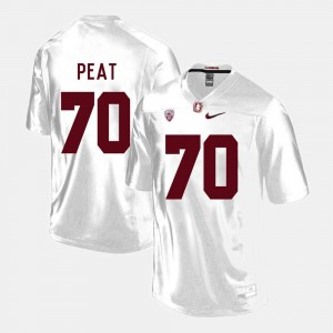 Andrus Peat Stanford Cardinal Football Jersey - Red