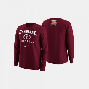 College Football Retro Pack Cardinal Mens Stanford University Sweater