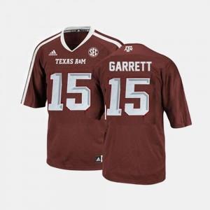College Football For Men Red #15 Myles Garrett Aggies Jersey