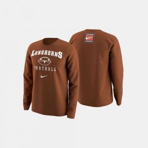 For Men's Orange University of Texas Sweater College Football Retro Pack