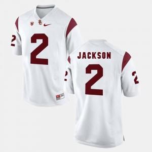 #2 Adoree' Jackson Trojans Jersey For Men's Pac-12 Game White