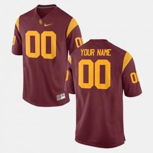 #00 Cardinal Men College Football Trojans Custom Jersey