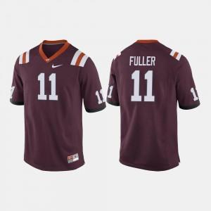Kendall Fuller Virginia Tech Jersey Men's Maroon College Football #11