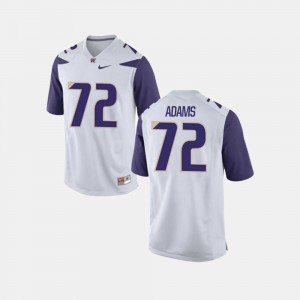 Trey Adams Washington Huskies Jersey Mens White College Football #72