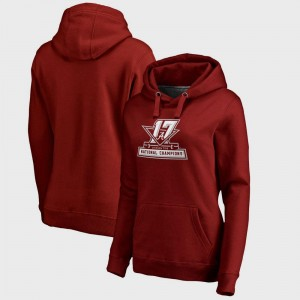 Bama Hoodie Crimson College Football Playoff 2017 National Champions Official Womens Bowl Game