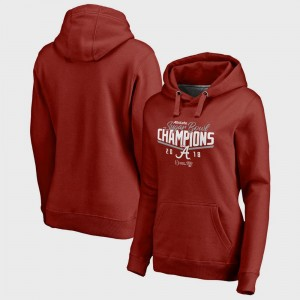 Alabama Crimson Tide Hoodie College Football Playoff 2018 Sugar Bowl Champions Goal Women Bowl Game Crimson