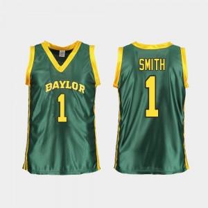 Replica Ladies Green NaLyssa Smith Baylor Bears Jersey #1 College Basketball